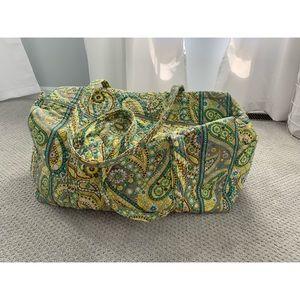 Large Vera Bradley Duffel Bag